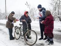 Ukraine : le CICR est venu en aide à des milliers de personnes touchées par le conflit dans la région du Donbass en 2017