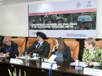 India: Experts from 19 countries discuss challenges to peacekeeping operations and IHL