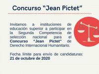 """México: convocatoria para la Segunda Competencia de selección nacional para el concurso """"Jean Pictet"""""""