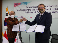 COVID-19: ICRC, KOICA sign agreement to support Indonesian prisons