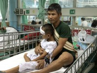 Thailand: Blinded by UXO blast, will young Khu Thauy ever see again?