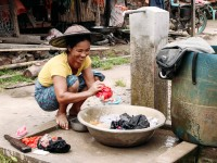 克钦邦:援助送到家门口,涓涓水流暖人心