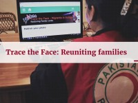 Trace the Face: Reuniting families