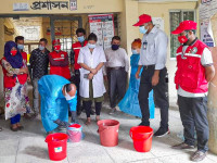 Chittagong Hill Tracts: Cleaners in 31 health facilities get trained to control COVID-19 spread