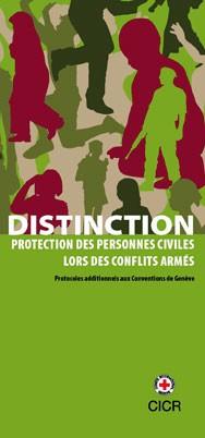 Distinction : protection des personnes civils lors des conflits armés