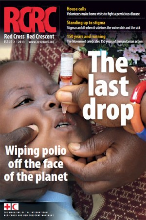 Red Cross Red Crescent: Wiping polio off the face of the planet (magazine)