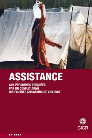 Assistance aux personnes touchées par un conflit armé ou d'autres situations de violence