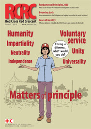 Red Cross Red Crescent: Matters of principle (magazine)