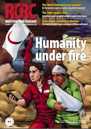 Red Cross, Red Crescent magazine: Humanity under fire