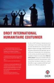 Base de données sur le droit international humanitaire coutumier – dépliant