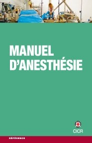 Manuel d'anesthésie