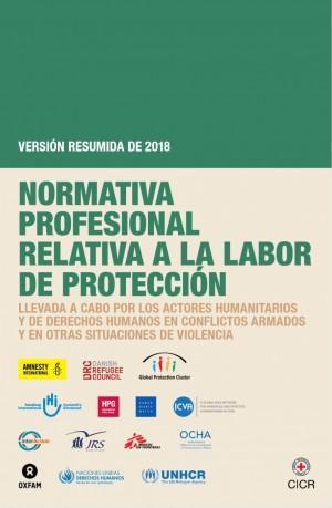 Normativa profesional relativa a la labor de protección (versión resumida 2018)