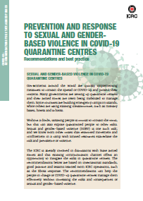 Prevention and Response to Sexual and Gender-Based Violence in COVID-19 Quarantine Centres