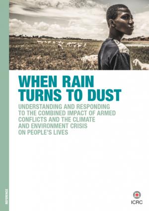 When rain turns to dust