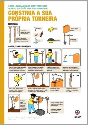 Como lavar as mãos com frequência quando você não tem água corrente?