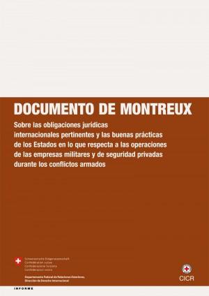 Documento de Montreux sobre las empresas militares y de seguridad privadas