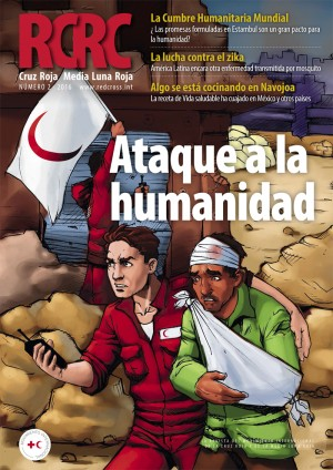 Revista Cruz Roja Media Luna Roja: ataque a la humanidad