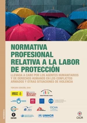 Normativa profesional relativa a la labor de protección