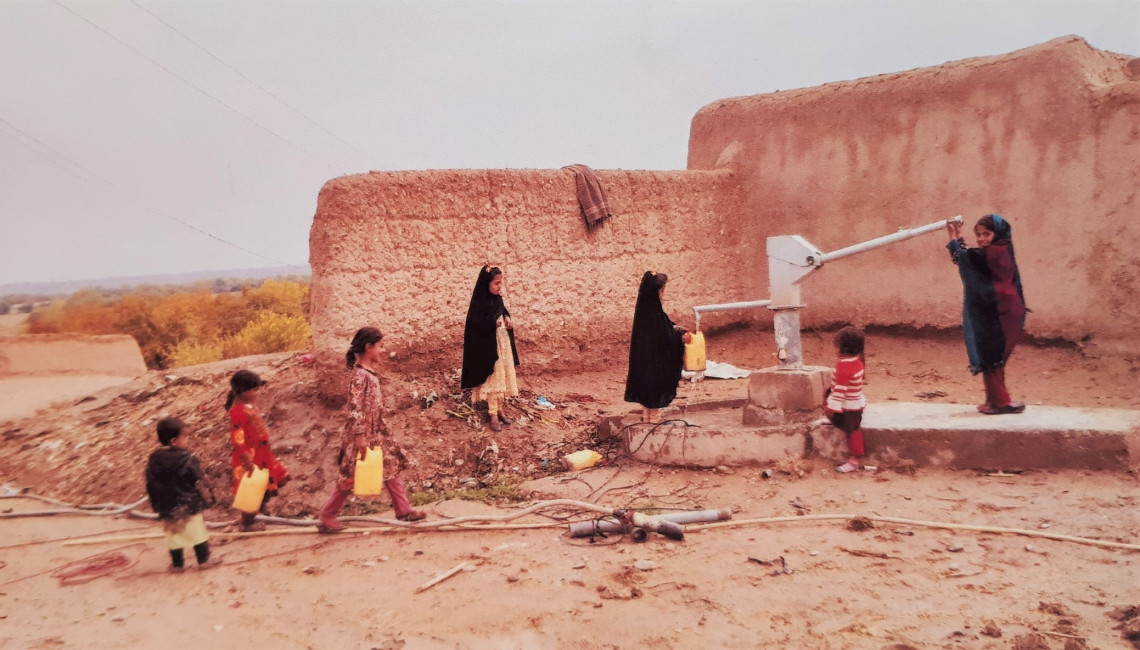 Afghanistan: Repaired hand pumps gush water, health and relief in refugee camps