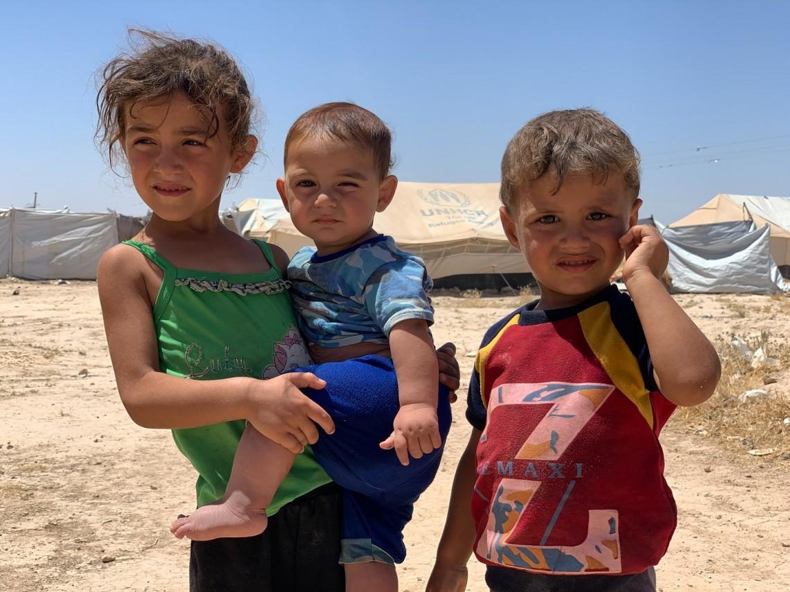 Síria: Um campo repleto de crianças