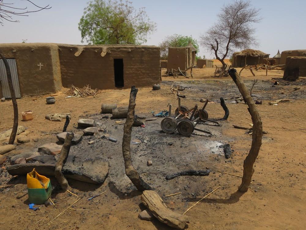 Le village d'Ogossagou au Mali, comme beaucoup d'autres dans la région du Sahel, a été la cible d'attaques meurtrières. Aya Soumaila/CICR