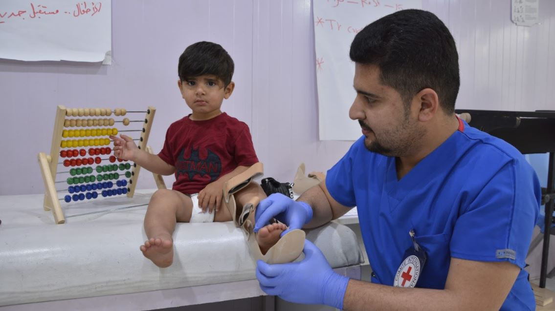 A personal account by Rieke Grainne Hayes, a physiotherapy team leader in the ICRC-run Erbil Physical Rehabilitation Centre in the Iraqi Kurdistan Region.