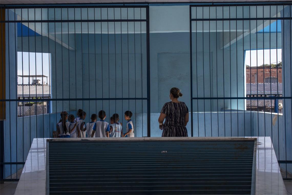 Escola municipal em Duque de Caxias – RJ onde a metodologia de Acesso Mais Seguro foi implementada. Foto M.Cruppe/CICV