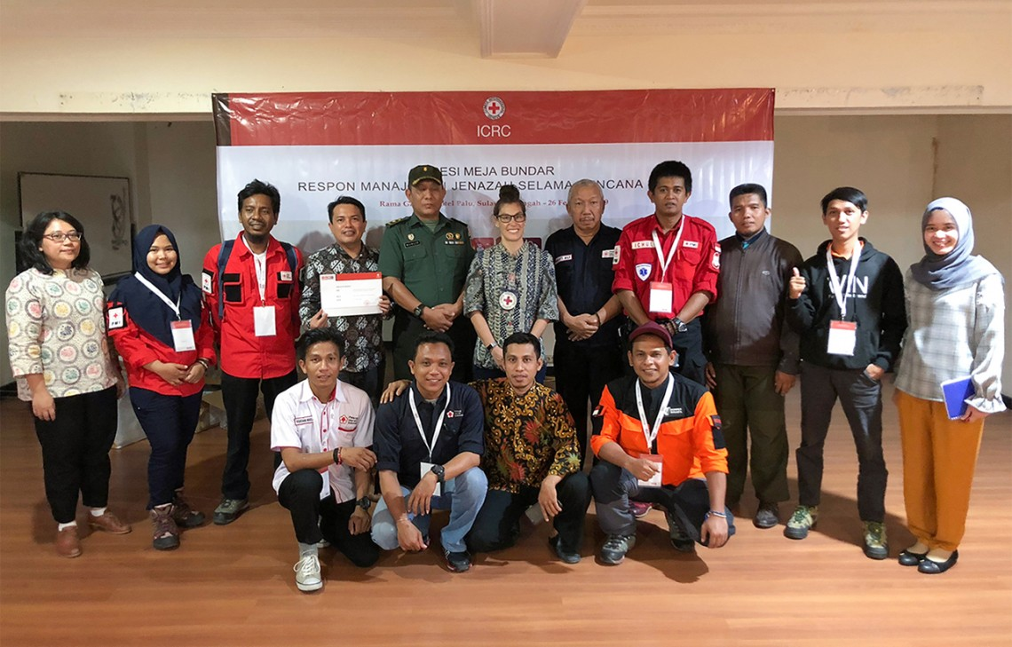 Dignified management of the dead: Aid workers draw lessons from Indonesia quake