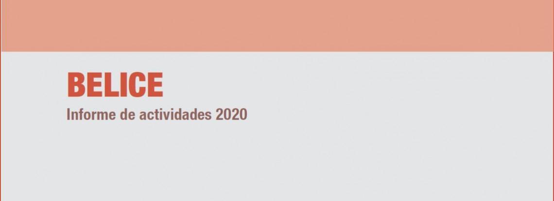 Belice: informe de actividades 2020