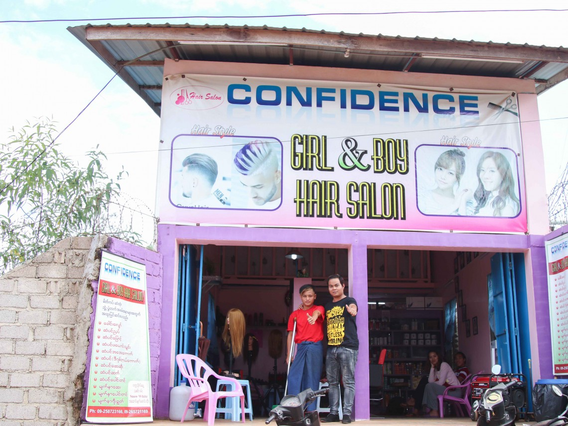More than a survivor: Young hairdresser in Myanmar is turning tragedy into hope