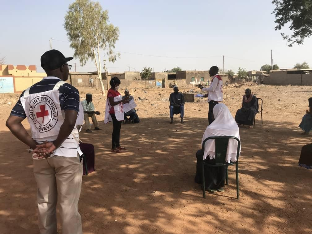 Burkina Faso COVID-19 prevention. ICRC