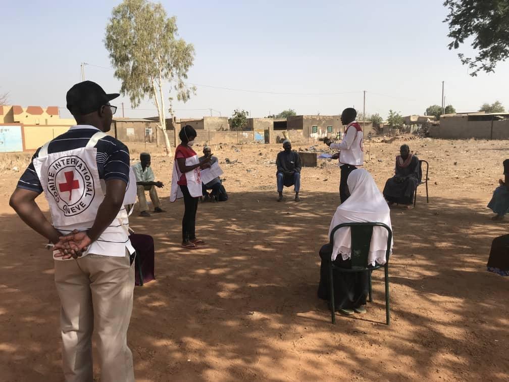 Burkina Faso COVID-19 Prävention