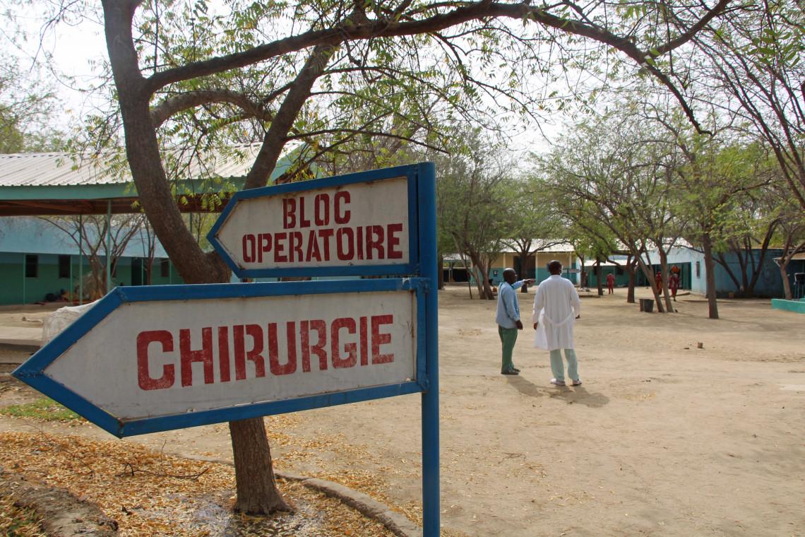 L'hôpital de Mada est la seule structure de santé capable de pratiquer des actes de chirurgie de guerre dans une région dévastée par la violence armée. Alex Lock/CICR