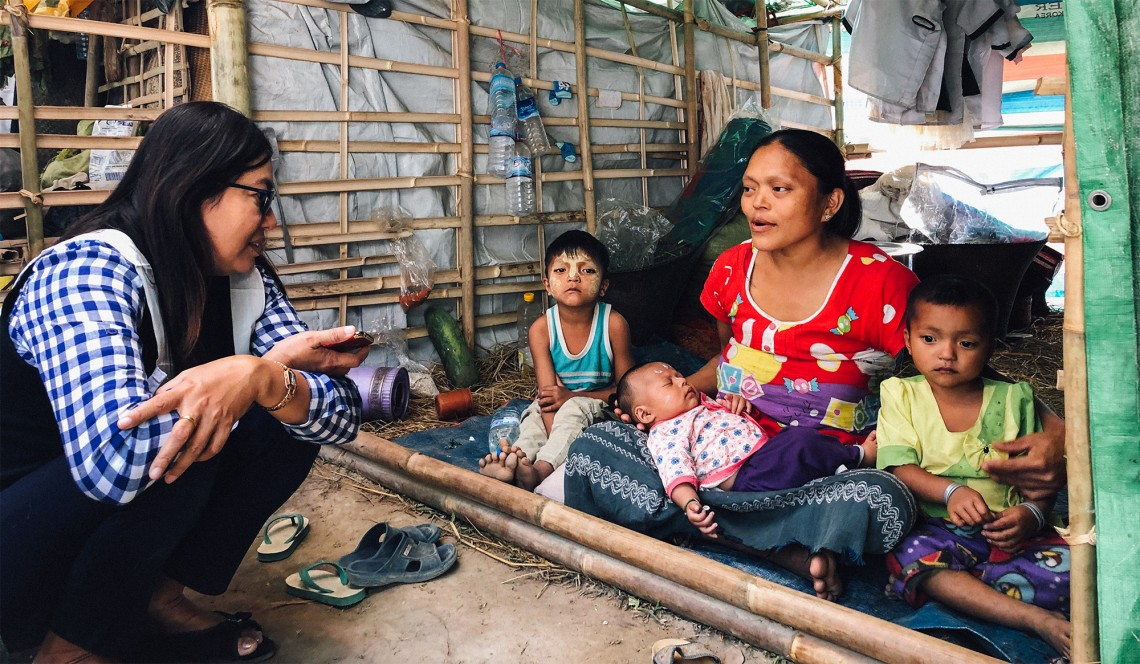 Myanmar: Bedenken wegen zunehmender Anzahl Vertriebener in Rakhine