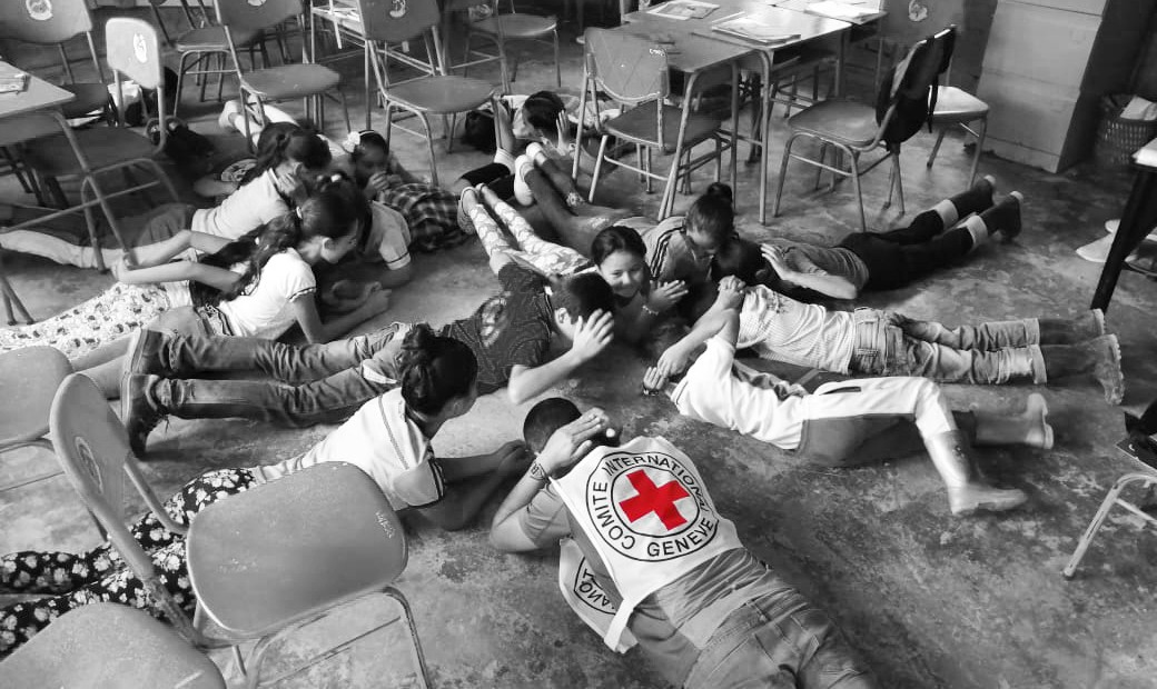 Children in the Catatumbo region have had to learn what behaviours to adopt in the event of armed confrontations. ICRC