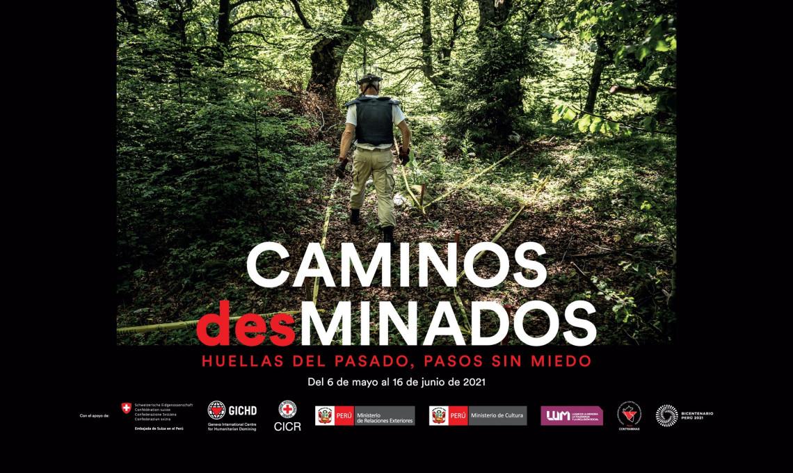 Caminos desminados exposición fotografica sobre minas antipersonal CICR - LUM