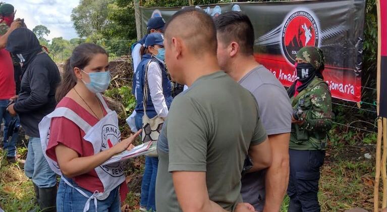 Entre enero y septiembre de 2021, 16 personas que estaban en poder de actores armados han recobrado su libertad en operaciones humanitarias facilitadas por el CICR. Crédito: Marlo Rodríguez/CICR