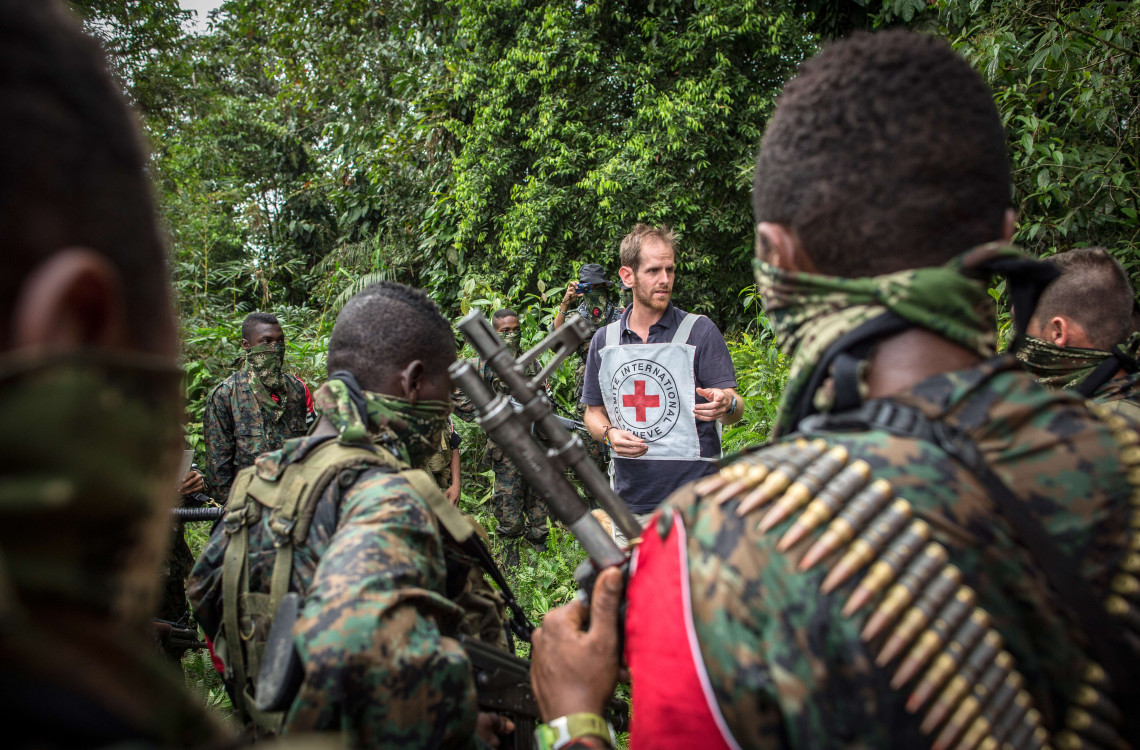 The ICRC engagement with armed groups: a humanitarian necessity