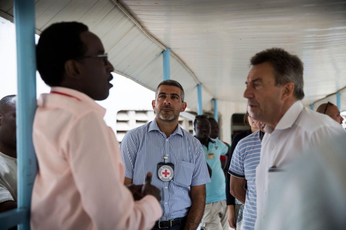 Patrick Youssef, IKRK-Regionaldirektor für Afrika
