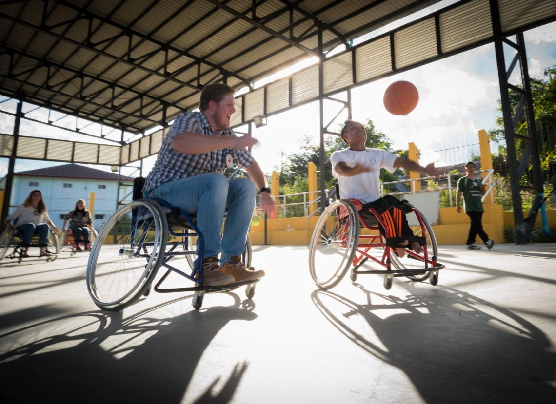 Wheelchair basketball: When disability was no different from ability