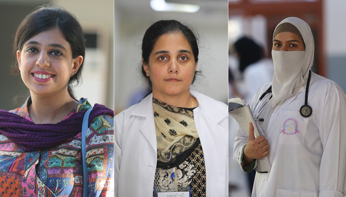 Pakistan: 6 women doctors reveal their inspiration, challenges and advice for future generation