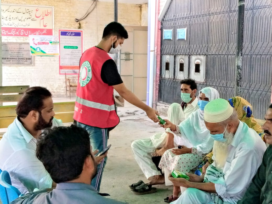 The ICRC''s operational response to COVID-19 in Pakistan.