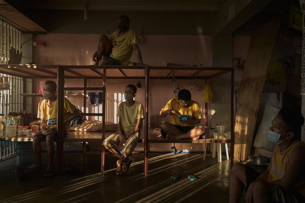 Lessons learned from fighting tuberculosis in Philippines' jails could help inform the fight against the novel coronavirus COVID-19 inside prisons. Jes AZNAR/ICRC