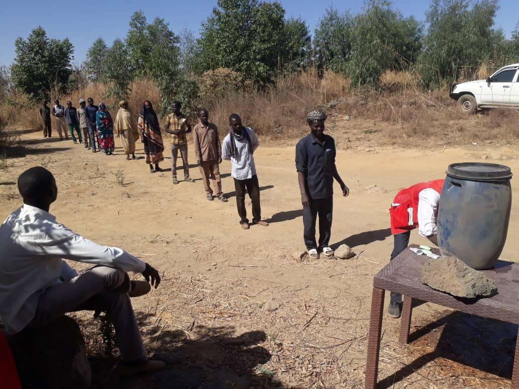 السودان: استجابة اللجنة الدولية لجائحة كوفيد-19