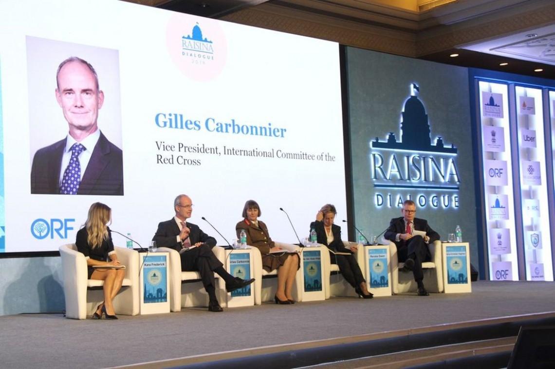 吉勒·卡尔博尼耶于2019年1月7-11日访问印度