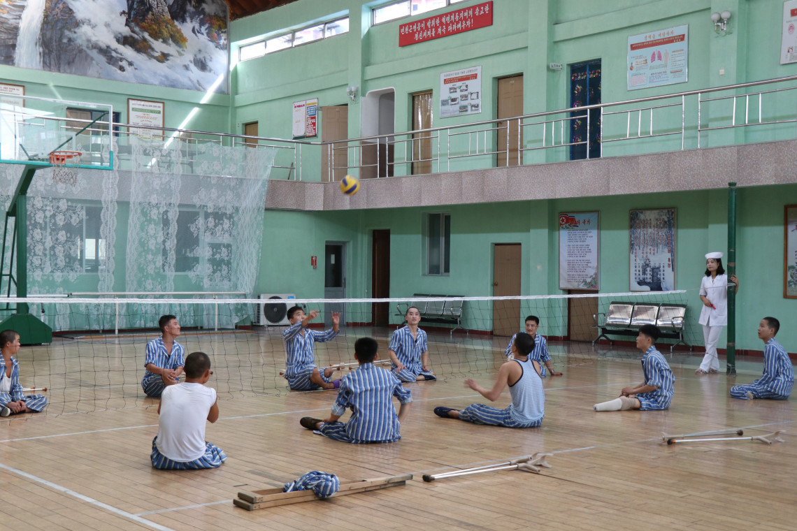 Physical Rehabilitation programme in the DPRK