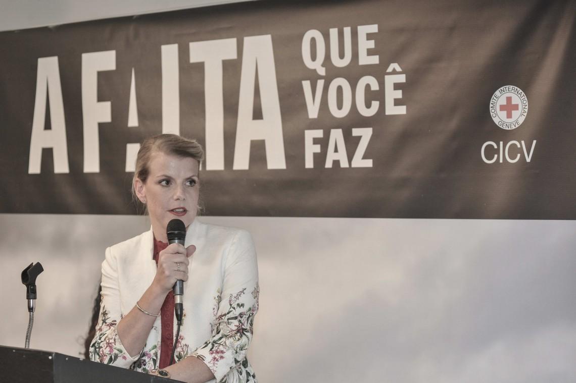 Desaparecidos no Brasil: Discurso da chefe da Delegação Regional na abertura da exposição