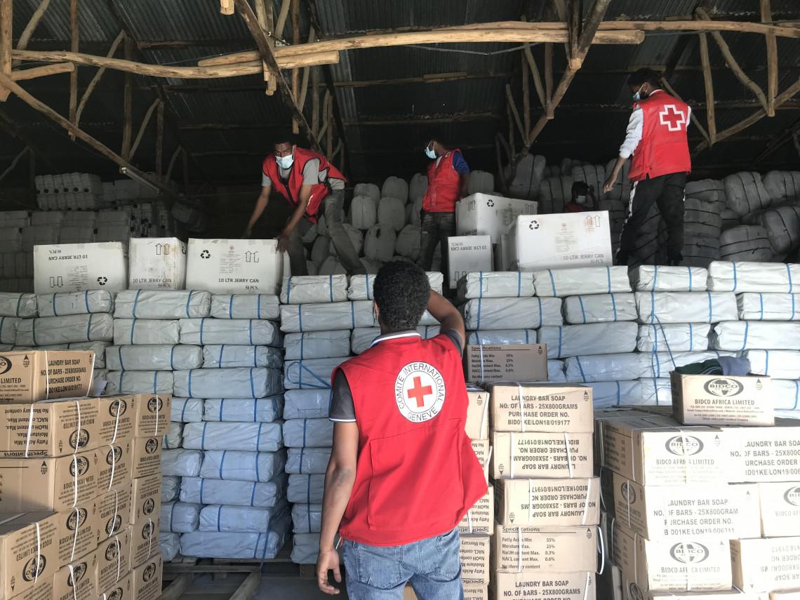 Le Mouvement international de la Croix-Rouge et du Croissant-Rouge intensifie ses activités humanitaires pour répondre aux besoins urgents en Éthiopie, au Soudan et à Djibouti