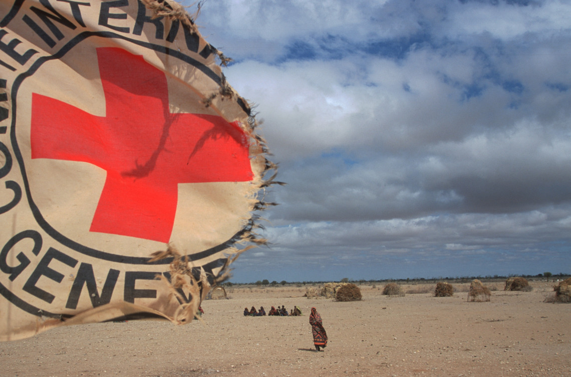 Gode, Ethiopia. Presence of the ICRC in this barren, drought and famine-stricken region. ICRC/ Till Mayer