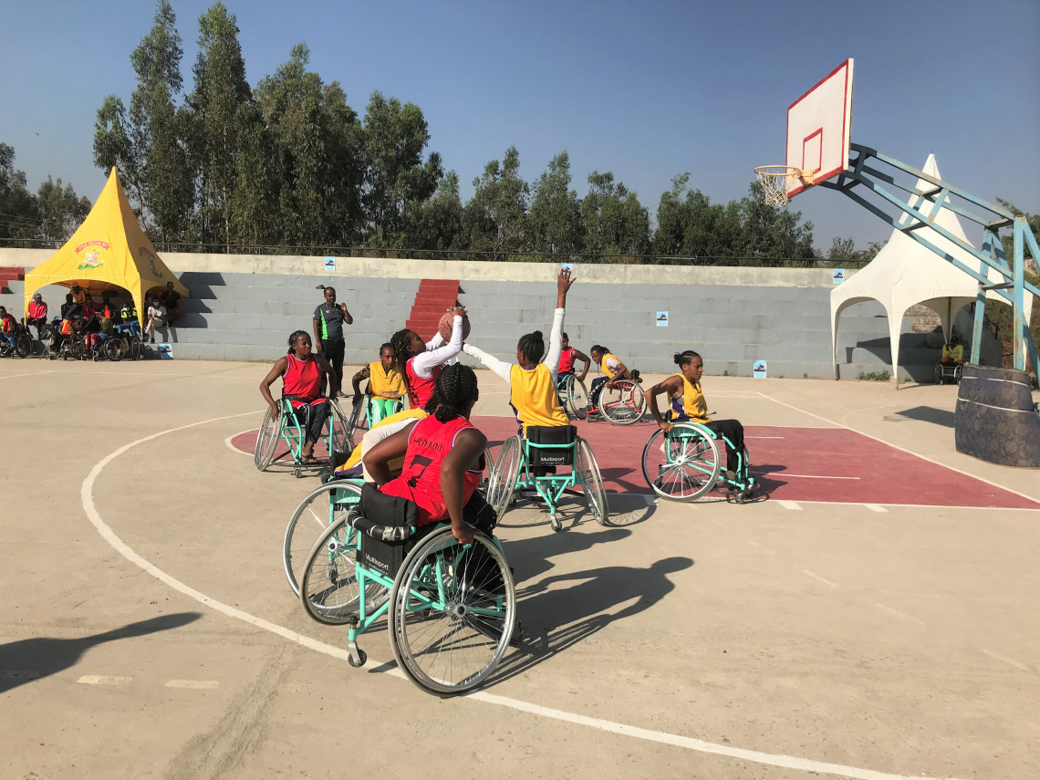The 6th Ethiopian Wheelchair Basketball Tournament was held in Bahir Dar, capital of Amhara region from 16 to 21 March 2021
